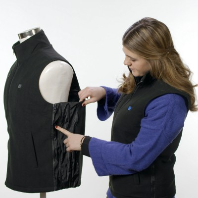 Vest with heater