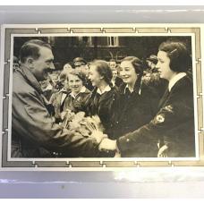 Postcard WWII - Adolf Hitler