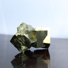 Mineral Pyrite - Merged cubes