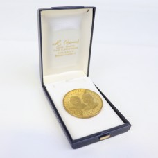Medal - Gold color - Paul VI and Johannes XXIII