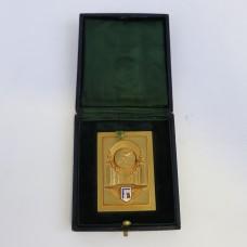 Old Medal - Gold Color - Sports - 1956 Paris