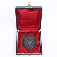 Old Medal - 1895 - Silver color - Original box