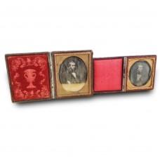 2 Antique Photography - daguerreotype - Middle 19th Century - Portraits