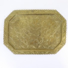 Metal Tray - With Asian motifs