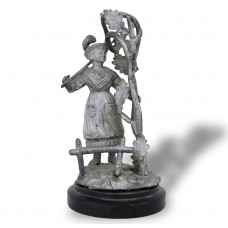 Old Statue - Peasant Girl - Kovinski - Vienna