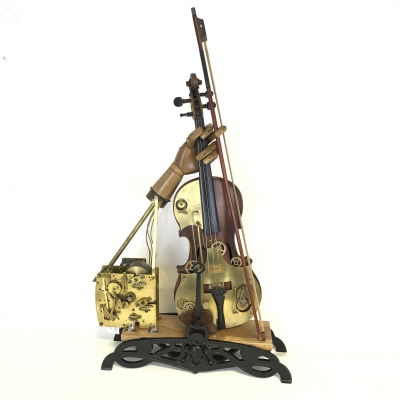 Steampunk - Violin on a Scale
