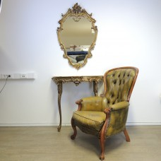 Barok style Mirror with Table