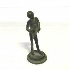 Ancient Bronze Roman Sculpture Naked