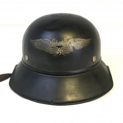 German helmet Luftschutz