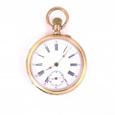 Gold Pocket Watch 14K - Ancre Ligne