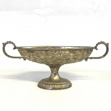 Old Repoussé made from Zinc – Silver plated