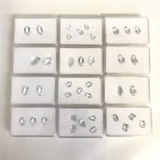 Lot of Aquamarine stones