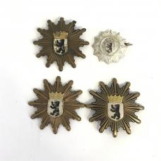 Lot of 4 old Berlin Police Badges