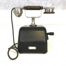 Old Bakelite Crank Telephone