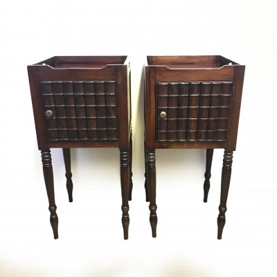 Two (2) Smoking Stands Antique