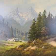 Oil Painting – Unknown Artist – 20. Century