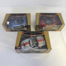 Burago car models – Shelby / Chervrolet / BMW