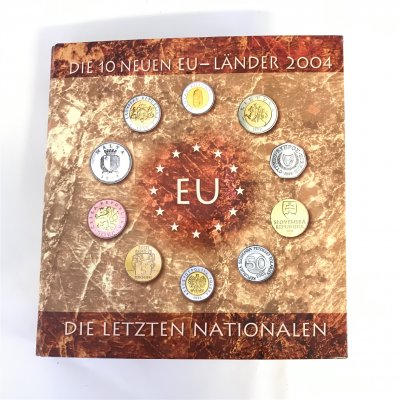 Album Coin – 10 New EU Lands 2004