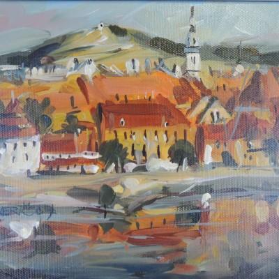 Oil Painting – Rado Jerič – 20. Century