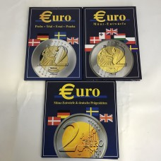 3 Albums Trial Euros 2002 Germany, Sweden, Denmark, Great Britain and other