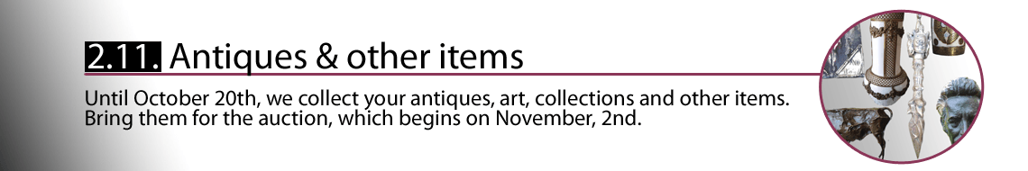 Buyout of antiques, art, collections, artwork and weird items.